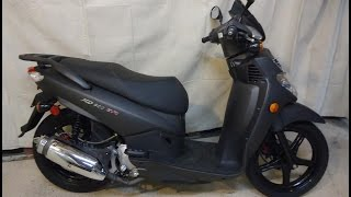 7. Sym EVO 200 Scooter