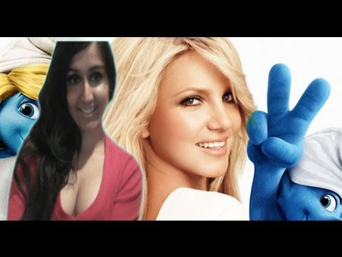 Britney Spears ♬ Ooh La La ♬ (SMURFS 2 Official Music) -- Video Review