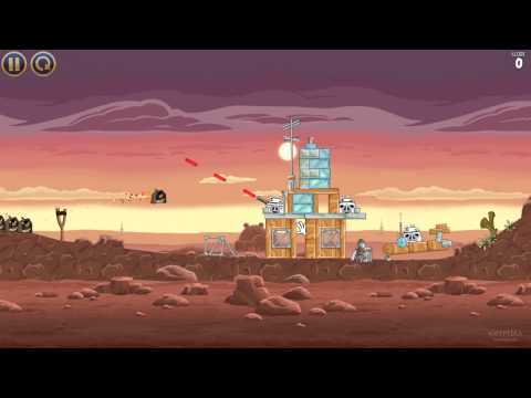 Quick Look: Angry Birds Star Wars – with Gameplay Video