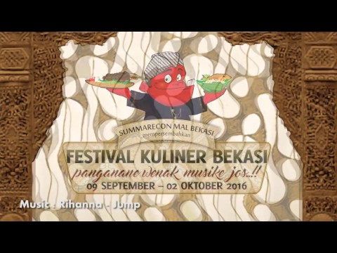 The Highlight of Festival Kuliner Bekasi 2016