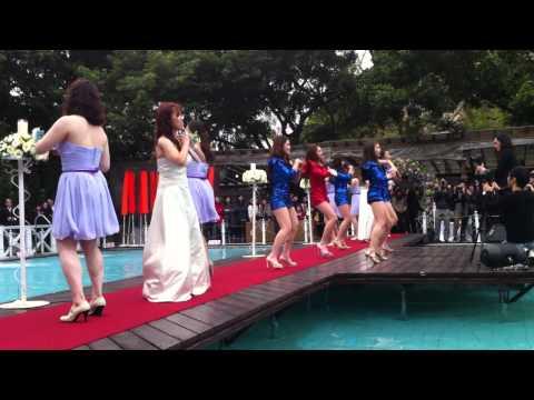 史上最強新娘伴娘舞蹈,我也想要參加這個婚禮!