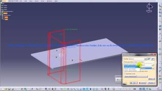 Catia V5 Tutorial|Generative SheetMetal Workbench|Creating Extrusion|Fixed Geometry & Automatic Bend