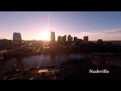 La ciudad de Nashville vista a través del lente de un drone ♥