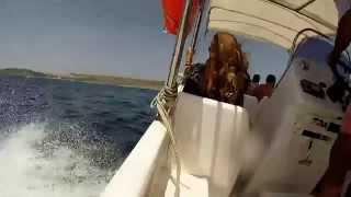 GoPro:Hero3+silver editionfast trip to blue lagoon comino (malta)speed boat verado marinerfun fun fun 1080p