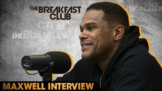 Maxwell Interview at The Breakfast Club Power 105.1 (04/08/2016)