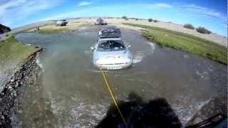 Ils vont rouler jusqu'en Mongolie - video (1)