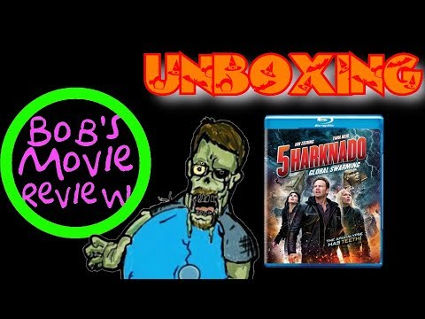 Sharknado 5: Global Swarming Blu-Ray Unboxing