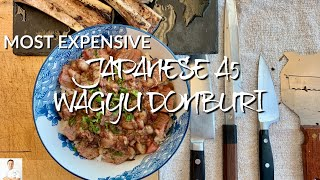 $128/Pound Japanese A5 Wagyu Donburi With Bone Marrow by Diaries of a Master Sushi Chef