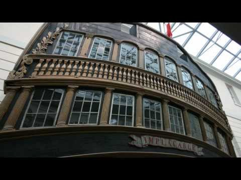 """National Maritime Museum"", Our Maritime History. Greenwich, London. HD"