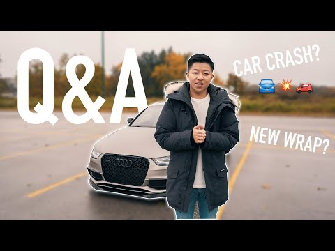 CAR ACCIDENT? NEW WRAP?...(Q&A)