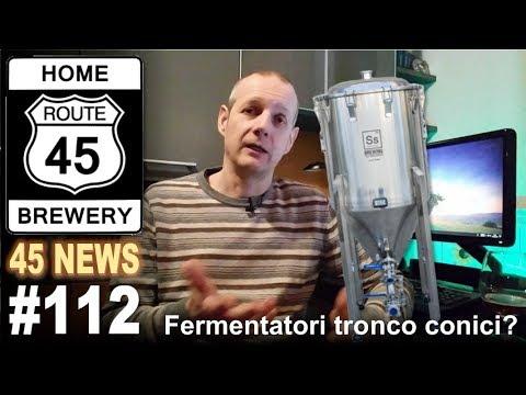 I fermentatori tronco conici - 45 News #112