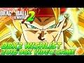 Dragon Ball Xenoverse 2: Wishlist - NEW Characters, Story & More + Bandai Namco Survey