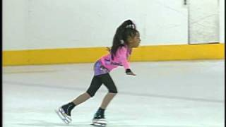Watch This Young Skater's Artistic Performance, She's Only 9 Year Old!