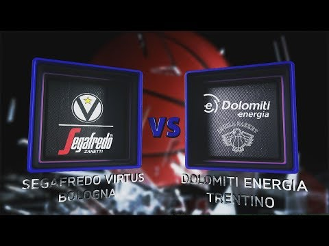 Virtus, gli highlights del match contro l'Aquila Basket Trento