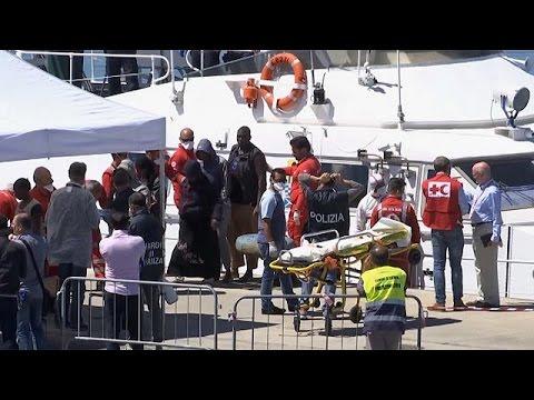 Μεσόγειος: Δύο ναυάγια με 245 νεκρούς μετανάστες