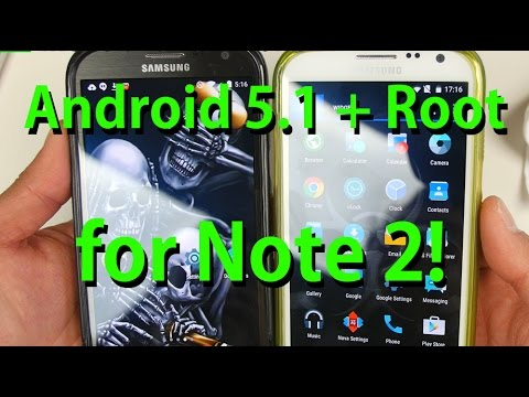 Android 5.1 + Root for Galaxy Note 2! [CyanideL ROM]