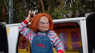 Titans of Terror Tram: Hosted by Chucky, Halloween Horror Nights 2017, Universal Studios Hollywood