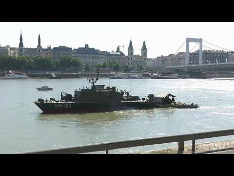 Budapest: Blindgänger aus der Donau gefischt