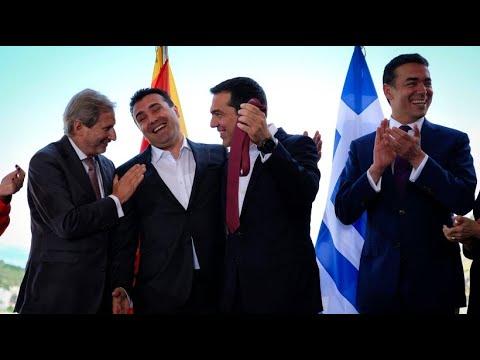Griechenland und Mazedonien unterschreiben Pakt im Na ...