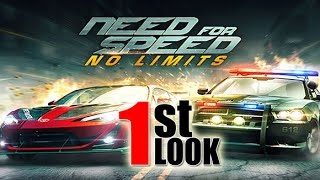 Need For Speed No Limits - By Electronic Arts - (1st Look iOS Gameplay), EA Games, video games