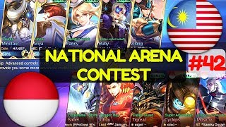 Indonesia VS Malaysia [3rd Game 200717] National Arena Contest Mobile Legends.https://www.youtube.com/watch?v=QC3juaqDn2I#MLBB #Malaysia #Indonesia #topranked #NationalArenaContestBlue Team : Malaysia Fanny, Ruby, Miya, Minotaur, ZilongRed Team: Indonesia Moskov, Tigreal, Saber, Cyclops, ChouMore Videos: Wiped Out! [Rank 4 Fanny]  Fanny Gameplay and Build By ᴢxυαи εϊɜ #5 Mobile Legends.https://youtu.be/vMEdYum89DMNo More Yun Zhao [Rank 1 Zilong]  Zilong Gameplay and Build By SkyWee  ᴿᵉᵛ Mobile Legends.https://youtu.be/FER7QzfTFJQFinally !! Rank 1 [Rank 1 Bruno]  Bruno Gameplay and Build By yqyq93 Mobile Legends.https://youtu.be/PkcHYjl-WpkInsane Shadow Skill [Rank 3 Hayabusa]  Hayabusa Gameplay and Build By ᴄʀᴜɴᴄʜSoJu Mobile Legends.https://youtu.be/ljLJLFxgRp0Post Nerf [Rank 1 Saber]  Saber Gameplay and Build By alive.Joker #3 Mobile Legends.https://youtu.be/5YNmEAG1JcoIt's Over 9000!!! [Rank 1 Alucard]  Alucard Gameplay and Build By ◤Saiyan◢ Fredo #4 Mobile Legends.https://youtu.be/jt-j4Bve2no===============================================Music :Intro and outro:Warriyo - Mortals (feat. Laura Brehm) [NCS Release] https://www.youtube.com/watch?v=yJg-Y5byMMwConnect with NCS:Snapchat: ncsmusic• http://soundcloud.com/nocopyrightsounds• http://instagram.com/nocopyrightsounds• http://facebook.com/NoCopyrightSounds• http://twitch.tv/nocopyrightsounds• http://twitter.com/NCSounds• http://spoti.fi/NCSWarriyo• https://soundcloud.com/warriyo• https://www.facebook.com/WarriyoMusic/• https://twitter.com/warriyo• https://www.youtube.com/WarriyoMusicLaura Brehm• https://soundcloud.com/laurabrehm• https://www.facebook.com/laurabrehmmusic• https://twitter.com/laurakbrehm• https://www.youtube.com/user/laurabrehmJoin your friends in a brand new 5v5 MOBA showdown against real human opponents, Mobile Legends! Choose your favorite heroes and build the perfect team with your comrades-in-arms! 10-second matchmaking, 10-minute battles. Laning, jungling, tower rushing, team battles, all the fun of PC MOBAs and action games in the palm of your hand! Feed your eSports spirit!Mobile Legends, 2017's brand new mobile eSports masterpiece. Shatter your opponents with the touch of your finger and claim the crown of strongest Challenger!
