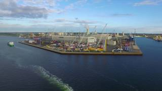 Rostock Germany  city images : Liebherr - Maritime Cranes Manufacturing Plant Rostock (Germany)
