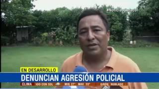 UNA FAMILIA DENUNCIA AGRESIÓN POLICIAL EN CASANARE