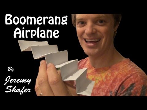 Super Boomerang Airplane