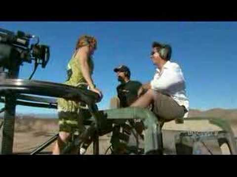 The minigun - The mythbusters try to chop off a tree with a minigun and a machine gun! Awsome clip ;) (3000 rounds per minute!!!)