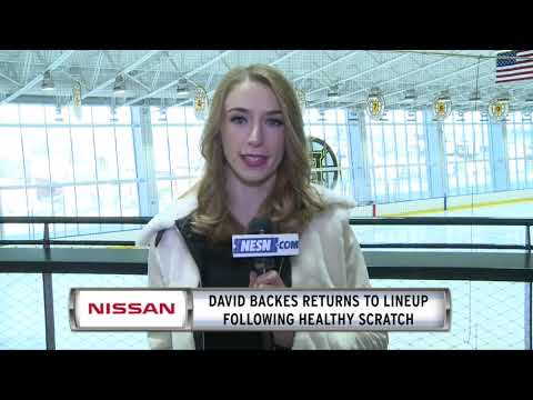 Video: NISSAN Morning Drive: David Backes Returns To Lineup As Bruins Take On Blues