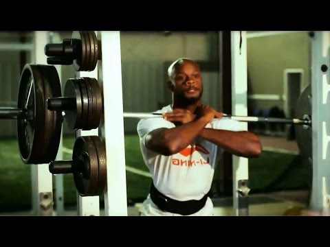weight training - Elite Sprinters Weight Training Collection of hard to find videos where elite sprinters workout in gym. Now you don't have to waste time searching them separ...