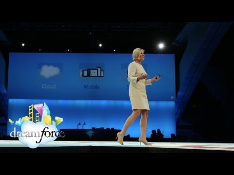 dreamforce - Increasing sales productivity is the #1 priority in today's selling organizations. Sales Cloud EVP Linda Crawford opens the keynote at Dreamforce '12 talking...