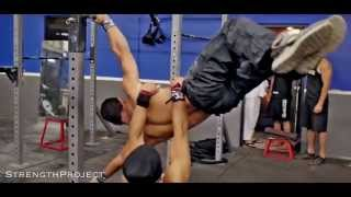 CALISTHENICS SESSION: STRENGTH PROJECT   RAW MOVEMENT - YouTube