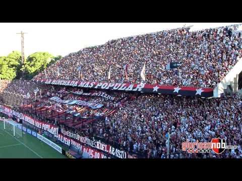 Libertadores 2013, Fecha 1. Newell's 3 - Olimpia 1 (Dale alegría a mi corazon!) - La Hinchada Más Popular - Newell's Old Boys - Argentina - América del Sur