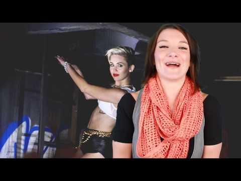 Miley Cyrus Twerks In