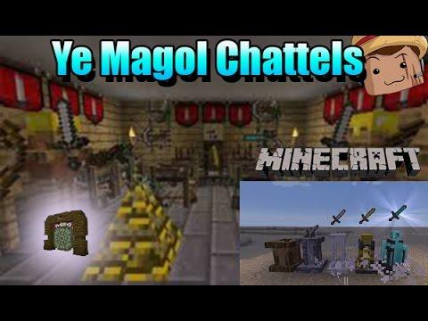 Minecraft Mod [ YE MAGOL CHATTELS ] 1.7.10 Decoración épica !!