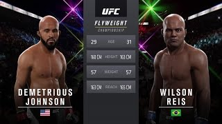 Nonton Ufc On Fox 24  Johnson Vs  Reis   Flyweight Title Match   Cpu Prediction Film Subtitle Indonesia Streaming Movie Download