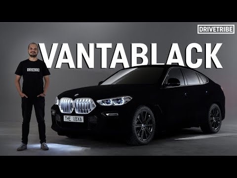Darkest Car in the World - BMW Covered in Vantablack