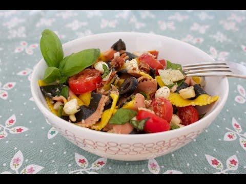 insalata di pasta mediterranea - ricetta