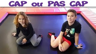 Video CAP ou PAS CAP au Trampoline Park ! MP3, 3GP, MP4, WEBM, AVI, FLV Oktober 2017