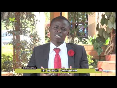 2 Minute Sense: Let Us Fight Corruption