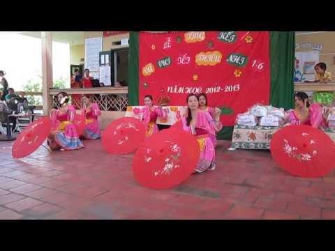 Múa cô giáo bản em - Trường MN Cúc Đường