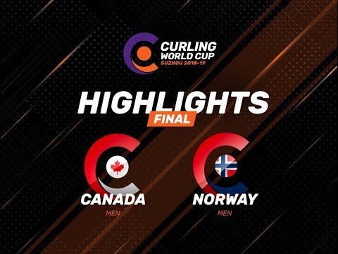 Canada v Norway - Men's Final - Highlights - Curling World Cup First Leg – Suzhou