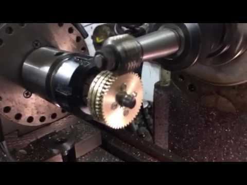 Gear to shaft mounting