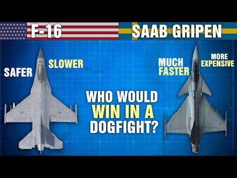 The Differences Between SAAB GRIPEN and F-16