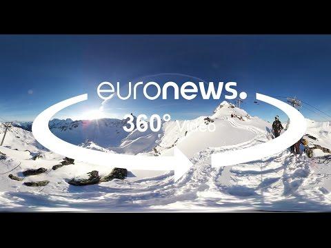 360 °: Ελεγχόμενη πρόκληση χιονοστιβάδας για την ασφάλεια των σκιέρ
