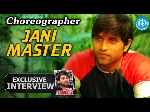 Choreographer Jani Master Exclusive Interview || Talking Movies With IDream #58