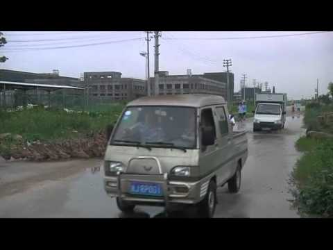 China - 5000 Ducks Block Road