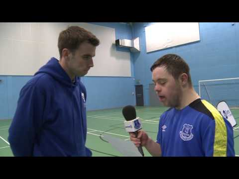 Video: Seamus Coleman interviewed by Down Syndrome footballer Ollie