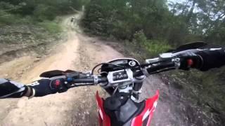8. GoPro - Husqvarna Te 250 trail ride